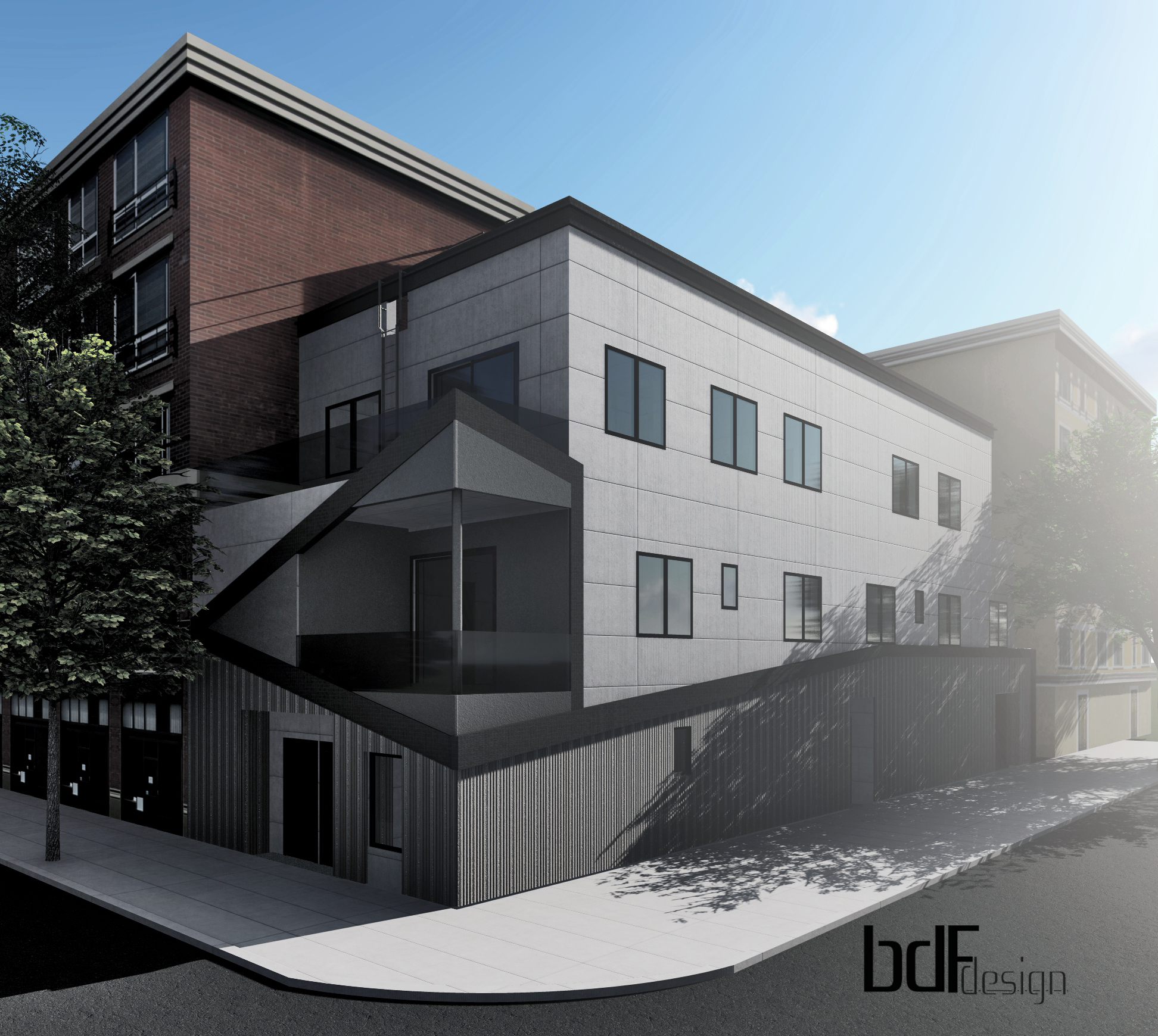 Rendering of 67 Engert Avenue - BDF Design