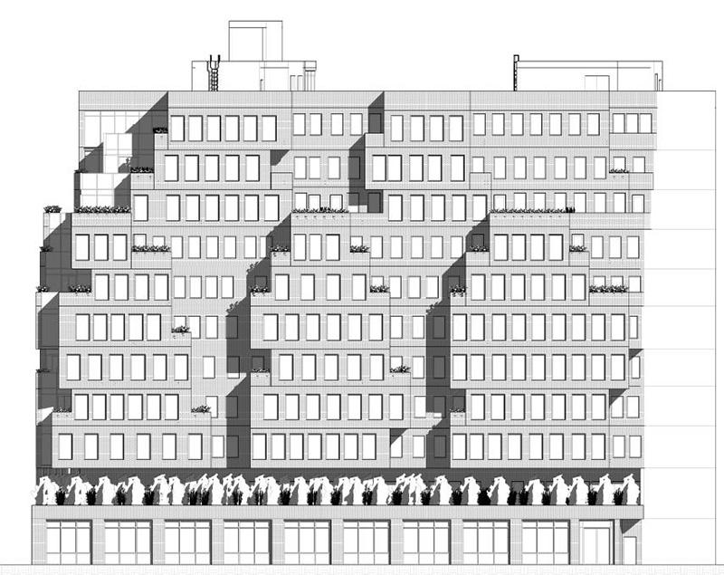 Rendering of 660-668 East Fordham Road - J Frankl Associates