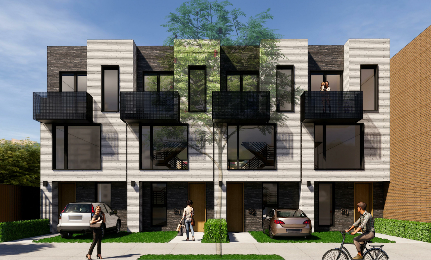 Rendering of 20 Huntington Street