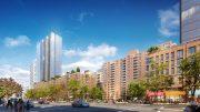 Rendering of Lenox Terrace following development - The Olnick Organization