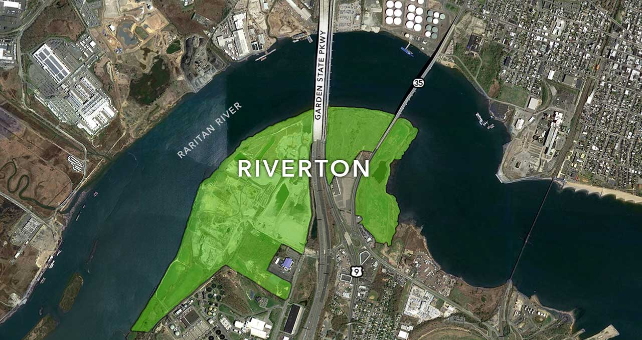 Site map off the Riverton development - North American Properties