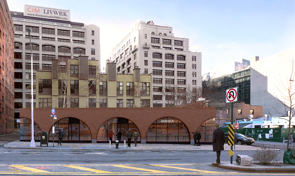 Rendering of 20 Old Fulton Street - NV/Design.Architecture