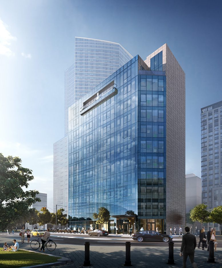 Rendering of 5 Court Square - MAQE