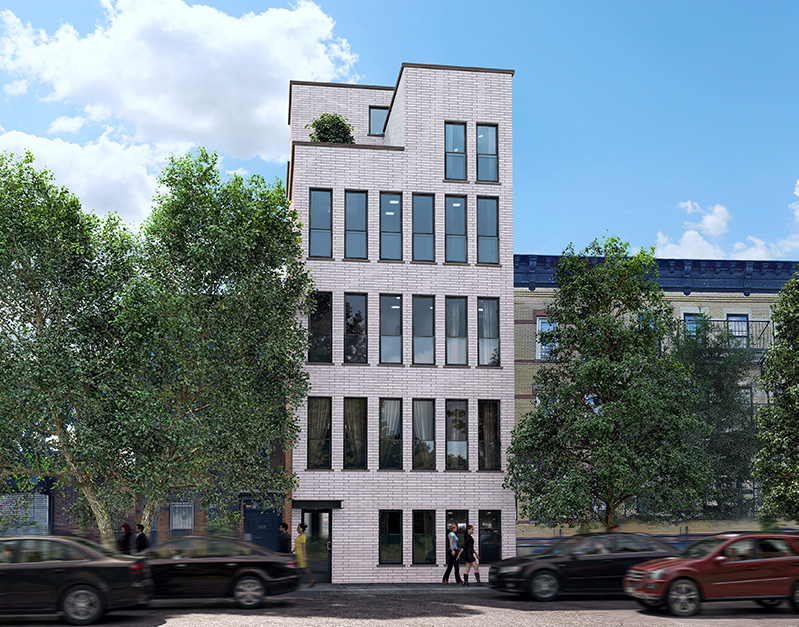 Rendering of 831 Hart Street - Tan Architect