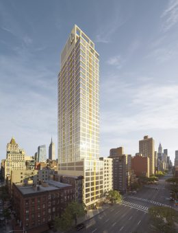 Rendering of VU at 368 Third Avenue - Unmarked Studio