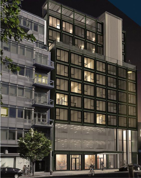 Rendering of 10-27 Jackson Avenue - Studio V. Architecture