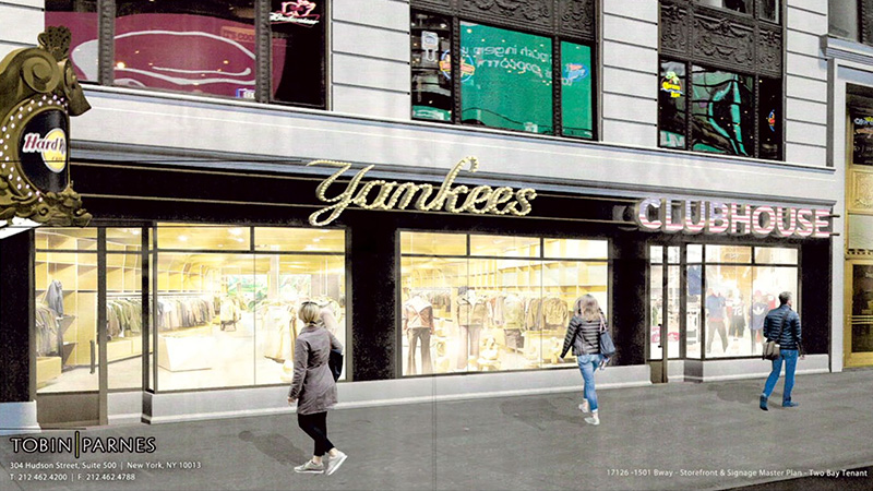 Proposed marquee signage along Broadway (Option 2) - Tobin Parnes Design