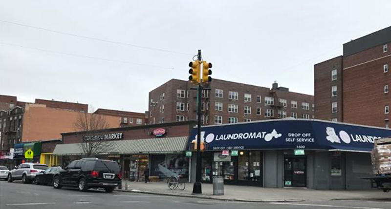Existing building at 1620 Cortelyou Road - 1600/20 Realty Corp