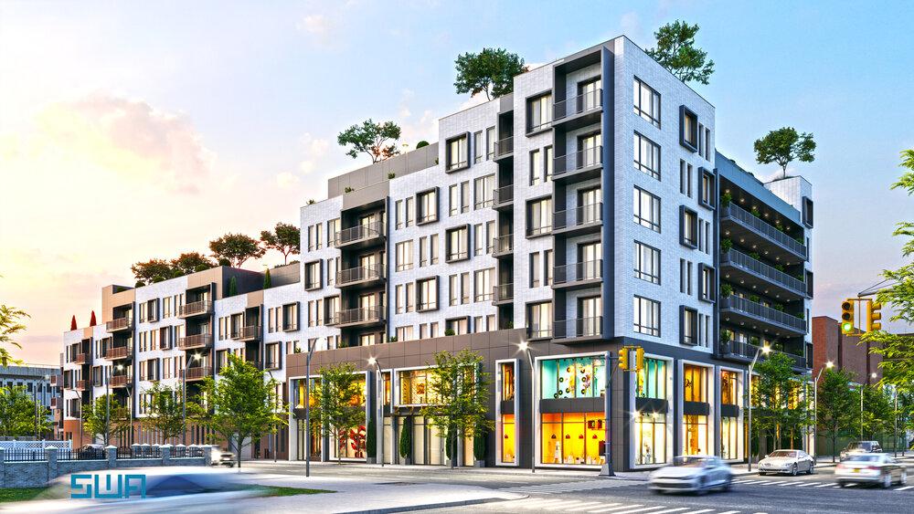 Rendering of 2708 Snyder Avenue - S. Wieder Architect