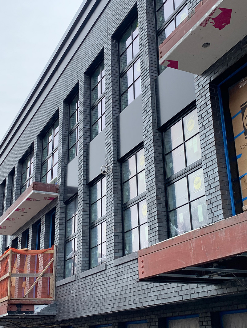 Current view of facade at 730 Hicks Street - Marin Architects