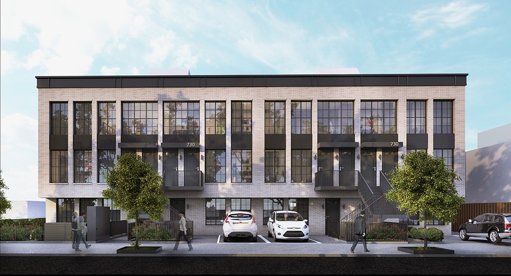 Rendering of 730 Hicks Street - Marin Architects
