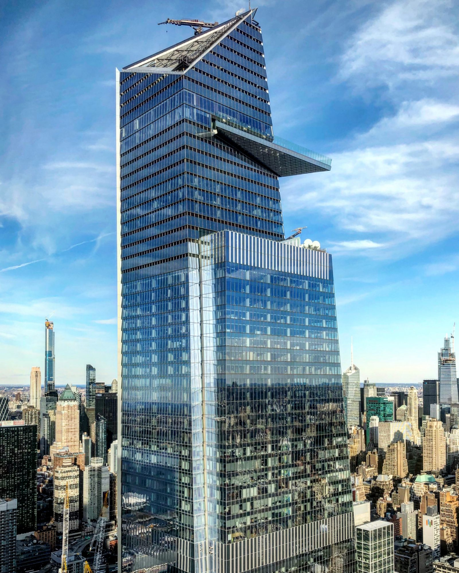 Edge Observation Deck at 30 Hudson Yards Officially Opens