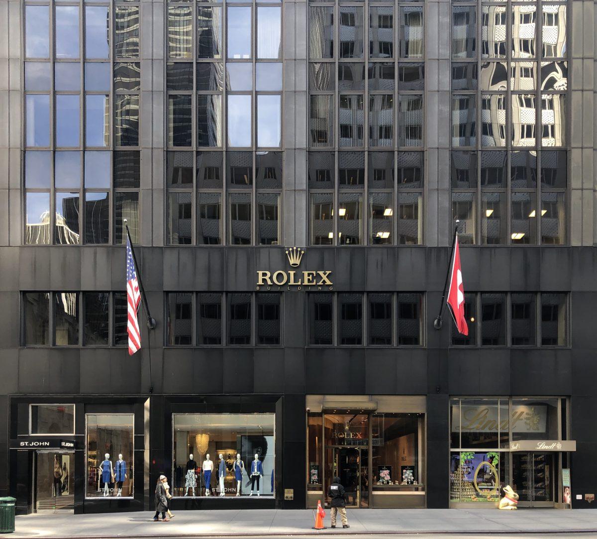 Rolex 5th Avenue Nyc