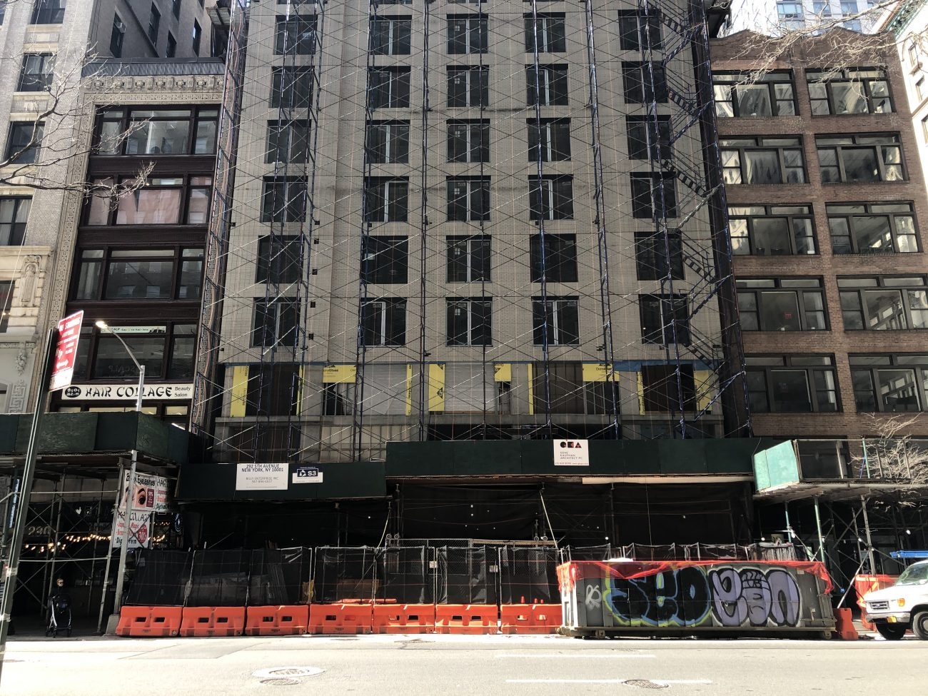 292 Fifth Avenue (March 2020) - Photo by Michael Young