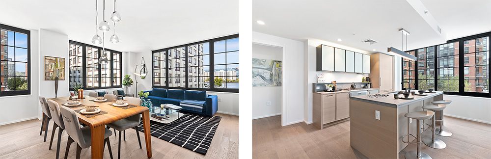 Model unit H at 1425 Hudson Street - Toll Brothers City Living