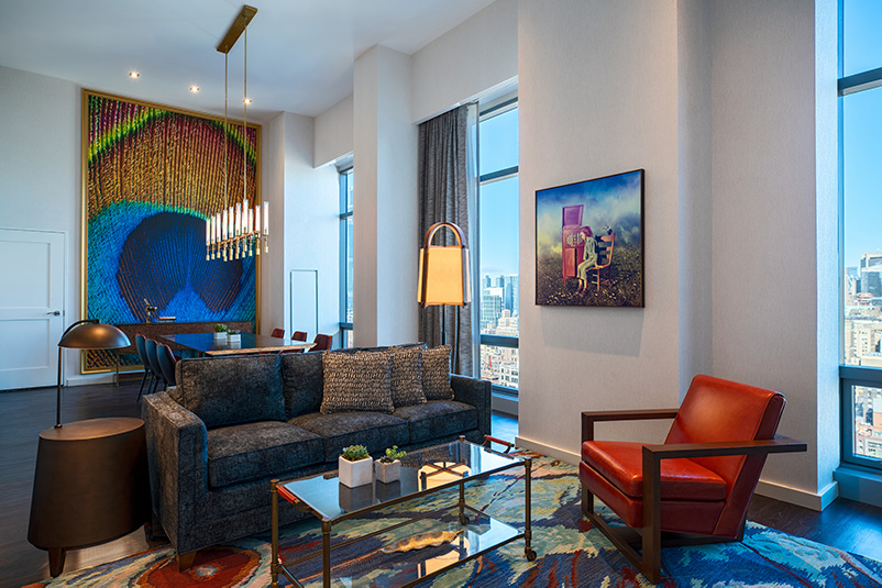 The Presidential Suite at the Renaissance New York Chelsea Hotel