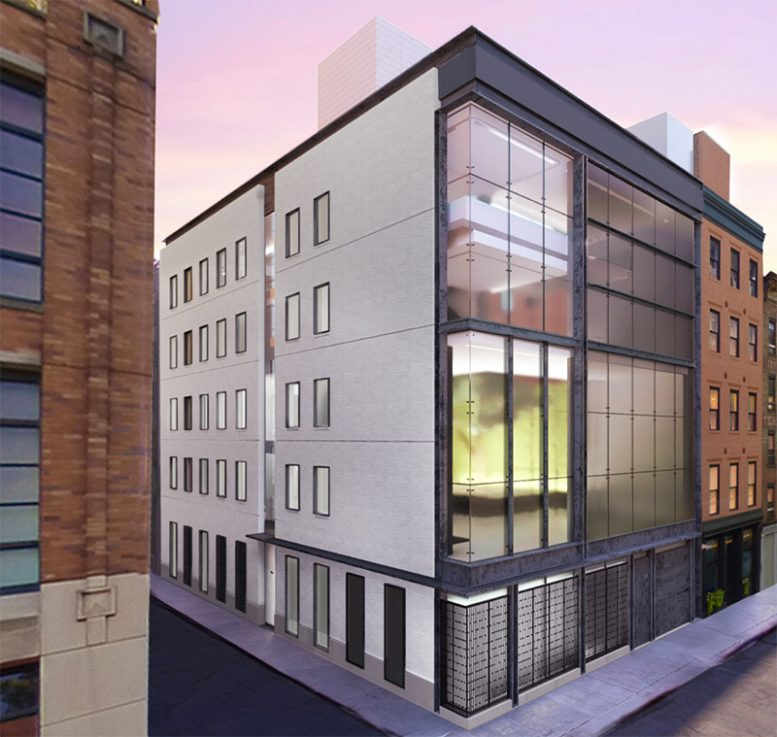 Updated rendering of 11 Hubert Street - E. Cobb Architects