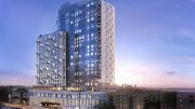 Rendering of PLG at 123 Linden Boulevard - The Moinian Group / Bushburg Properties