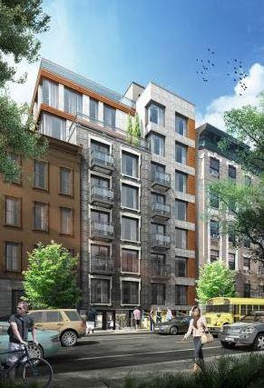 Rendering of 168 West 136th Street - J Frankl Associates