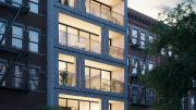 Rendering of 217 Franklin Street - INOA Architecture