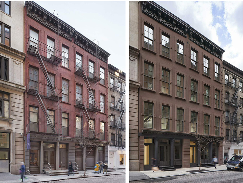 Existting and proposed development at 61-63 Crosby Street - David Grider Architect