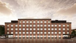 Rendering of 251 Front Street aka 68 Gold Street - CW Realty / The J Associates