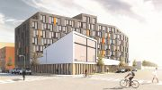 Rendering of 760 Soundview Avenue - Alexander Gorlin Architects / Xenolith Partners