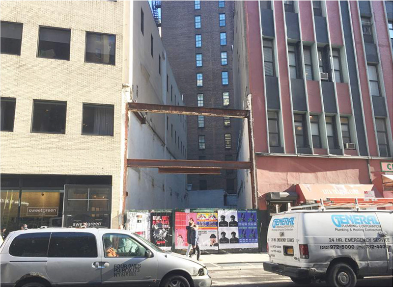 Existing conditions at 1162 Broadway - Morris Adjmi Architects