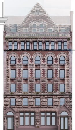 Rendering of 16 East 16th Street – BKSK Architects