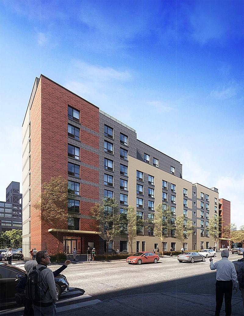 Rendering of 171 Throop Avenue - Monica Lopez Architect