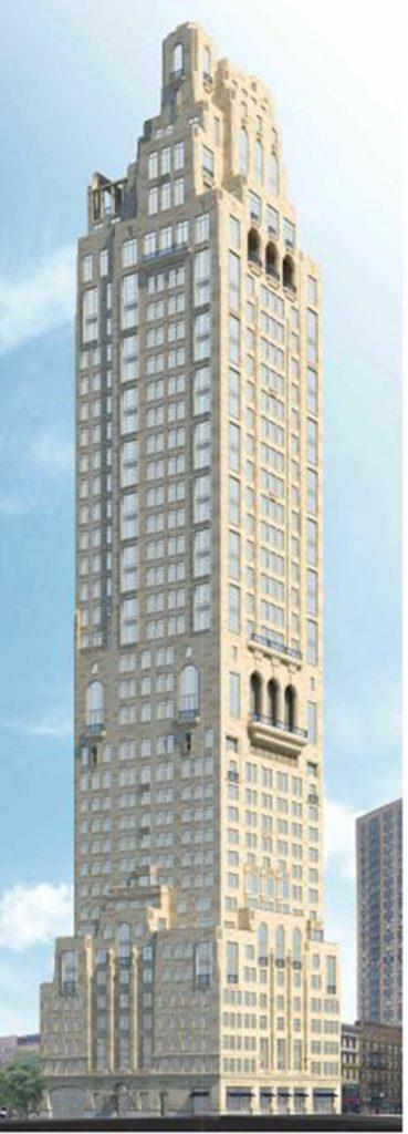 Rendering of 200 East 83rd Street / Naftali Group