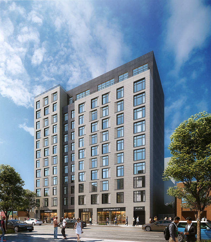 Rendering of 299 East 161 Street - IMC Architecture