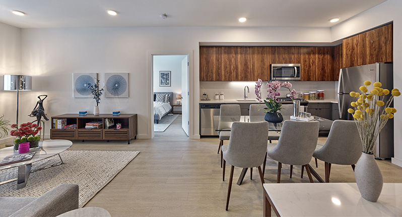 Model Apartment at BeLa - 74 Maple Street