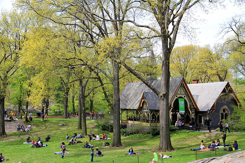 The Central Park Dairy - Wikicommons