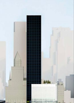 Rendering of 12 West 57th Street by Skidmore, Owings & Merrill