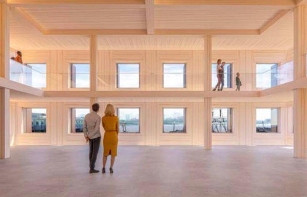 Rendering of South Street Seaport Museum via Skidmore, Owings & Merrill
