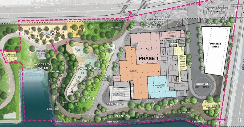 Bronx Point Site Plan