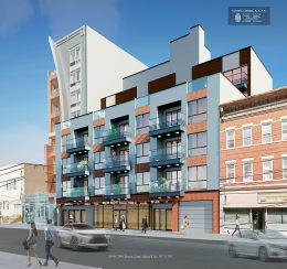 Rendering of 39-04 29th Street - Gerald J. Caliendo Architects