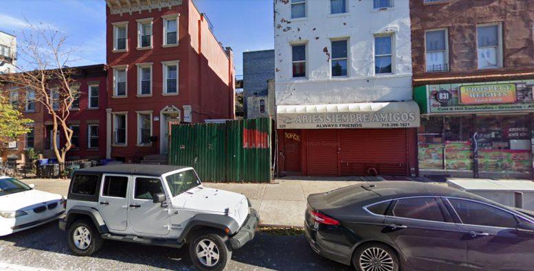 627 Franklin Avenue in Crown Heights, Brooklyn