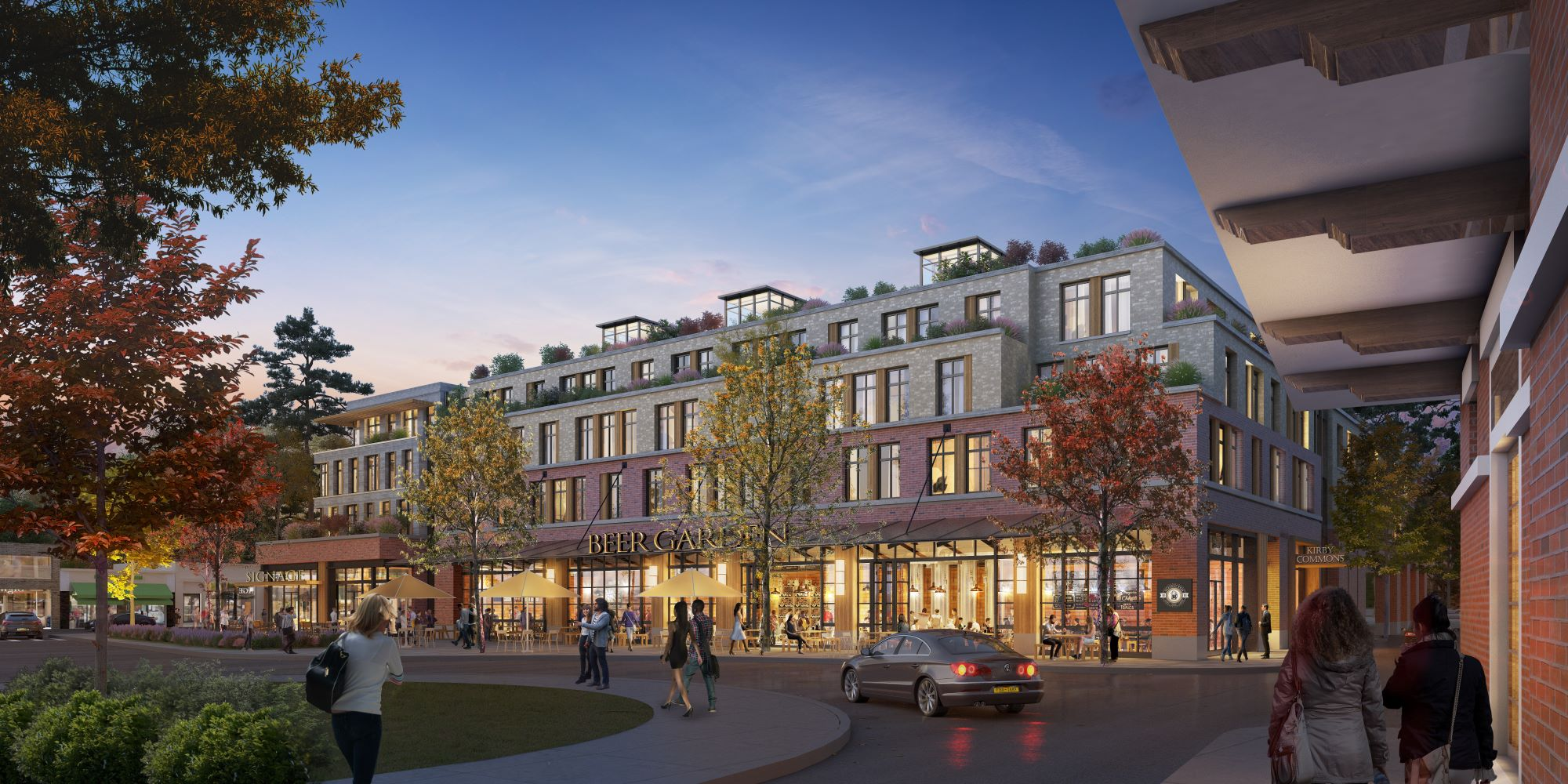 Kirby Commons Rendering - Gotham Organization and Charter Realty Development