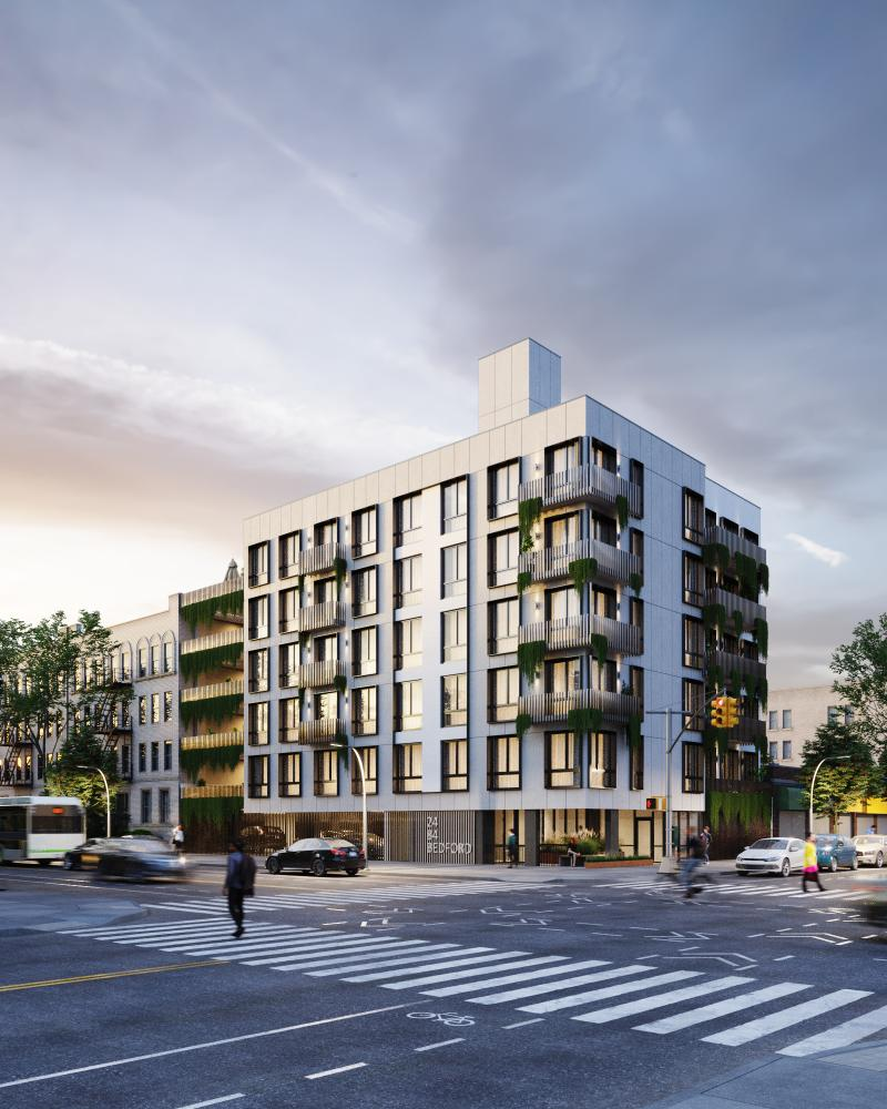 Rendering of 2484 Bedford Ave Reveal - S. Wieder Architect