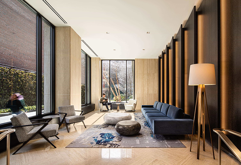 Gracie Mews Lobby Renovations Complete At 401 East 80th Street On The Upper East Side New York Yimby