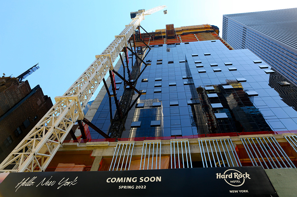 Hard Rock Hotel New York Exterior