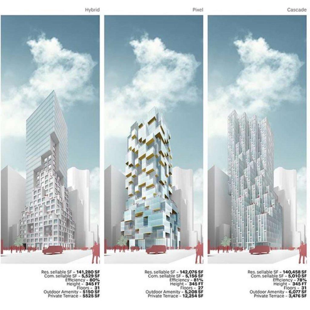 ODA renderings of 139 East 56th Street