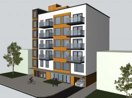 Rendering of 2809 Clarendon Road - NY Building Associates