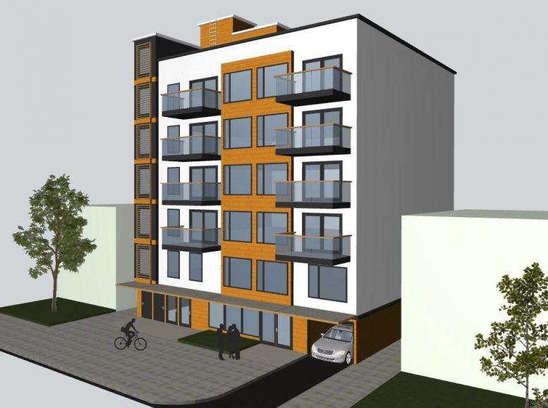 Rendering of 2809 Clarendon Road - NY Building Associates