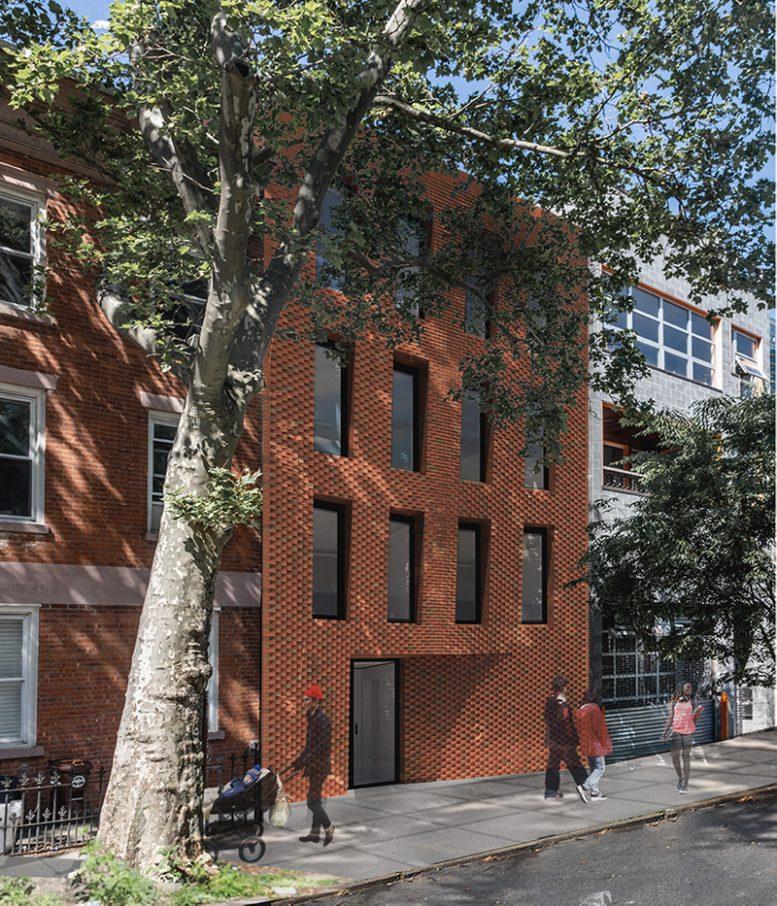 Rendering of 76 North 8th Street - Pliskin Architecture