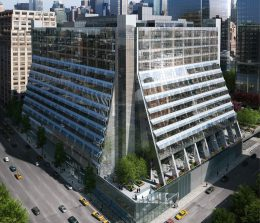 Rendering of Five Manhattan West - Brookfield Property Partners
