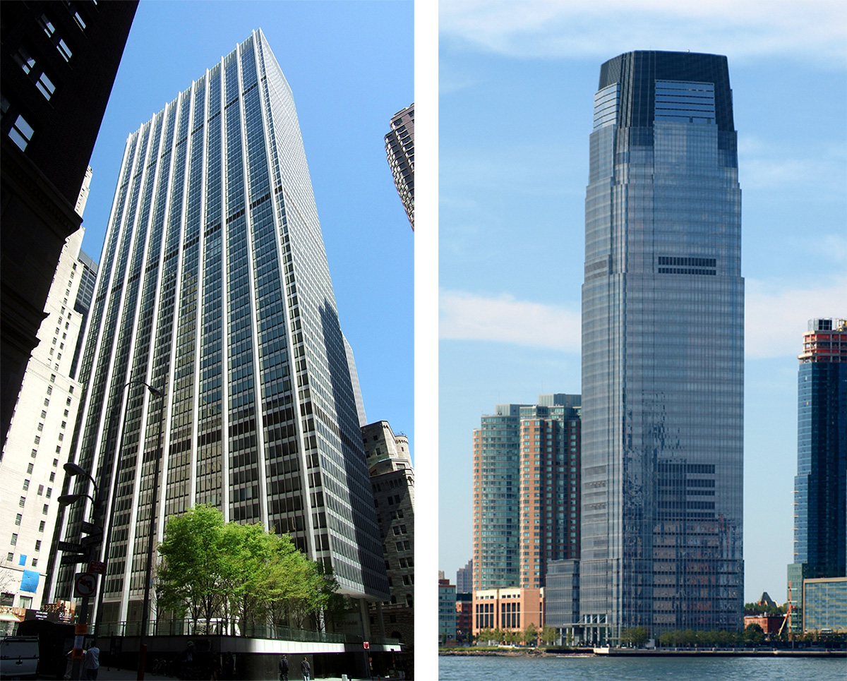 View of 28 Liberty Street and 30 Hudson Street - Skyscraper Center / CTBUH