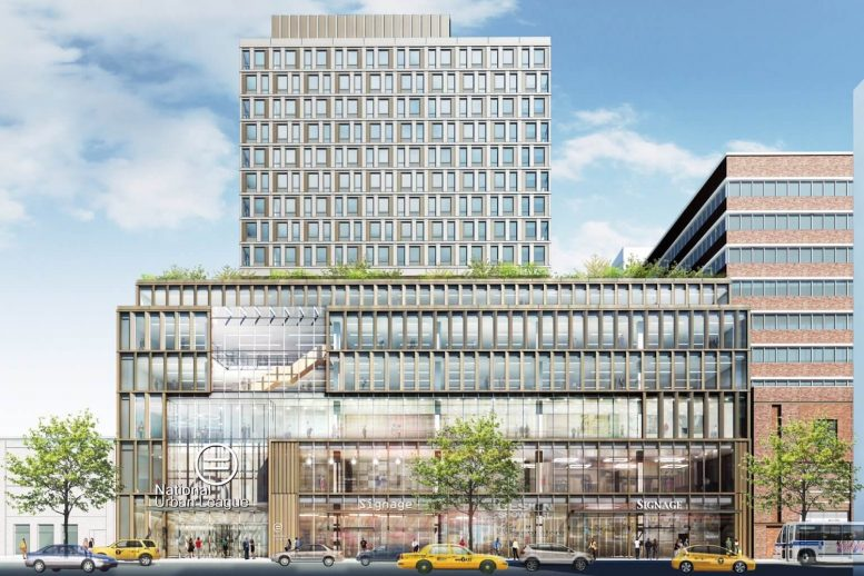 Rendering of 121 West 125th Street - Beyer Blinder Belle